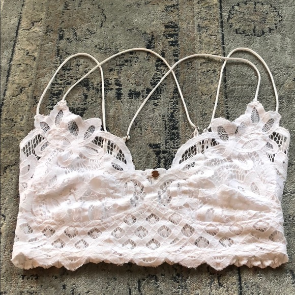 a0ccb91ee0839 Free People Other - Free People intimately FP Adella Longline bralette
